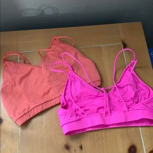 2 Fabletics sports bras